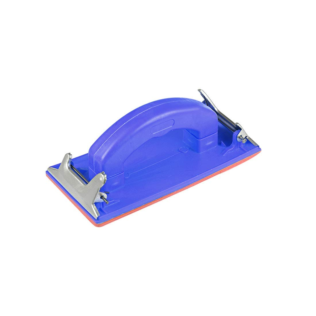 polishing Blue polishing Sander Block 7x3.4 Inch Sandpaper Holder Hand Tool with Plastic Handle for Wall Sanding