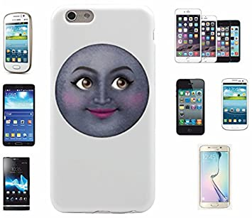 online store 05b93 1ed23 Moon' Phone Case Emoji Confident In Life, for Apple: Amazon.co.uk ...