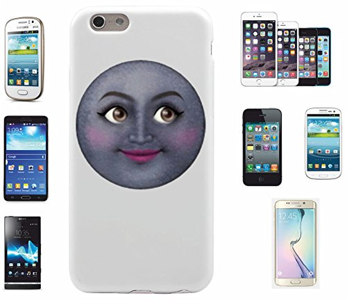 """Smartphone Case Apple IPhone 6+ Plus / 6S+ Plus """"Mondgesicht von Emojis Vertrauensvoll lebendig """", der wohl schönste Smartphone Schutz aller Zeiten."""