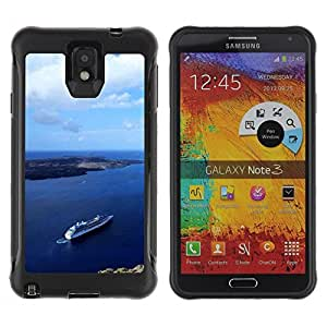 """Hypernova Defender Series TPU protection Cas Case Coque pour SAMSUNG Galaxy Note 3 III / N9000 / N9005 [Naturaleza Hermosa Forrest Verde 92""""]"""