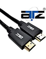 ATZ HDMI CABLE 4K Ver 2.0 W/GOLD PLATED CONN - 1M