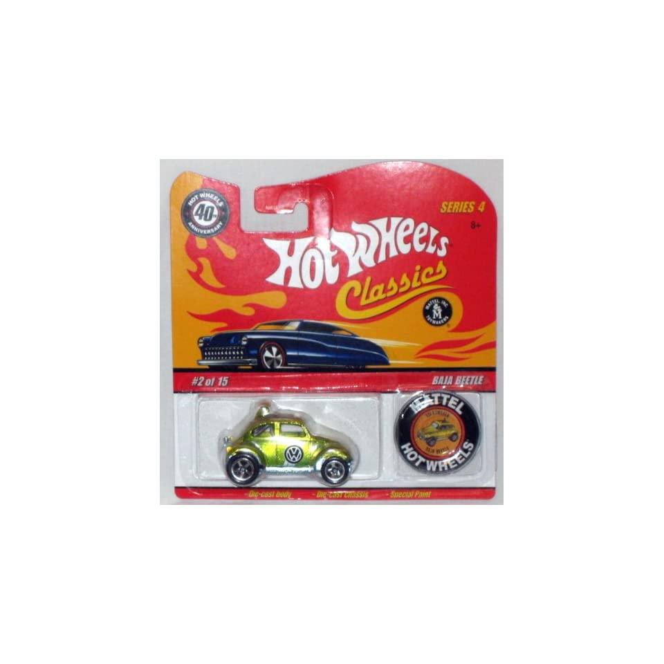 Hot Wheels Classic Series 4 Baja Beetle #02 of 15   Mattel 164 Scale Die Cast
