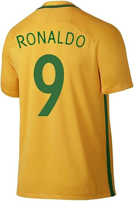 kirajs 2016 Copa América Centenario Brasil 9 Ronaldo camiseta de ...