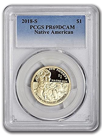 2007-S PROOF Native American Sacagawea Dollar PCGS PR69DCAM FREE SHIPPING