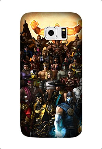 Samsung Galaxy S6 Edge Plus/S6 Edge+ Hard back Cover special mortal kombat armageddon characters Game Protective Case Design by [David Reed]