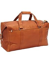 Extra Large Zip-Pocket Duffel, Saddle, One Size