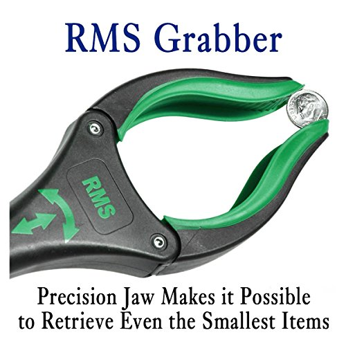 RMS 26'' Grabber Reacher   Rotating Gripper   Mobility Aid Reaching Assist Tool   Trash Picker, Litter Pick Up, Garden Nabber, Arm Extension   Ideal for Wheelchair and Disabled (Green) by RMS Royal Medical Solutions, Inc. (Image #3)