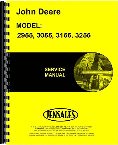 John Deere 2955 3055 3155 3255 Tractor Service Manual (JD-S-TM4449)
