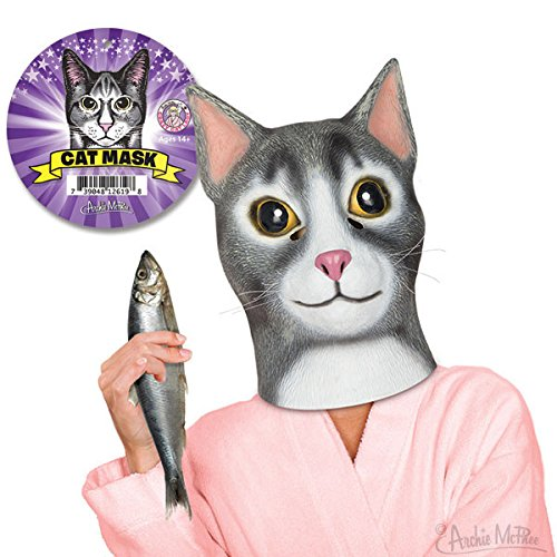 Cat Latex Mask by Accoutrements - Halloween -