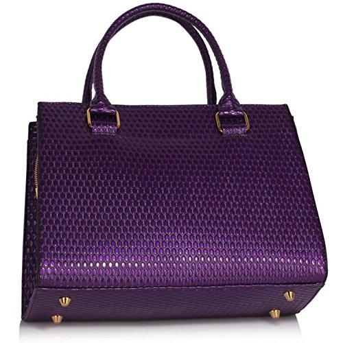 Xardi London - Borsa a tracolla donna Purple