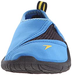 Speedo Kids Surfwalker Pro 2.0 Water Shoes (Little Kid/Big Kid), Blue/Black, 5  US Big Kid