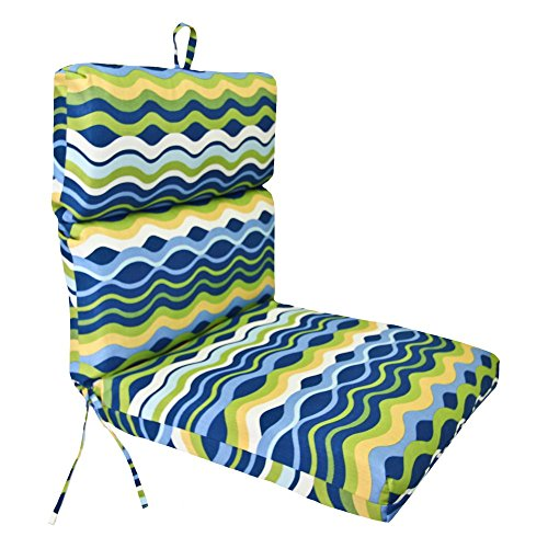 Jordan Manufacturing 44 x 22 in. Outdoor Chair Cushion -