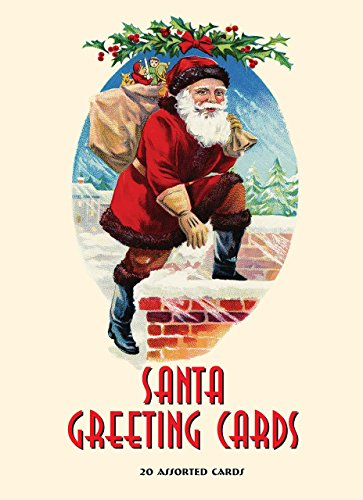 (Santa Greeting Cards: 20 Assorted Cards in Deluxe Tin)