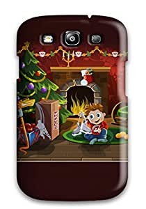 Unique Design Galaxy S3 Durable Tpu Case Cover Christmas Surprise