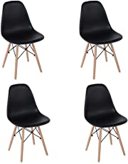 Sillas Réplica Eames (4 piezas)