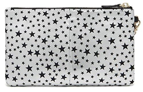 Pochette ET chargeur de téléphone Argenté étoile - Mightypurse