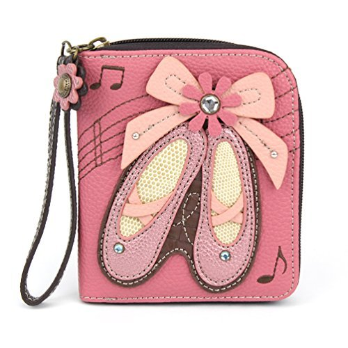 CHALA Pal Zipper Wallet Collection (Ballerina - Pink) from CHALA