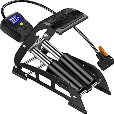 AK Bomba de bicicleta de múltiples funciones fijado del pie de la ...