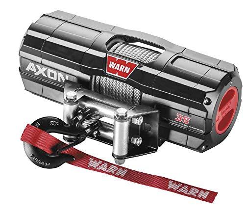 New Warn Axon 3500 lb Winch & Model Specific Mount - 2013-2018 Honda Pioneer 500 UTV