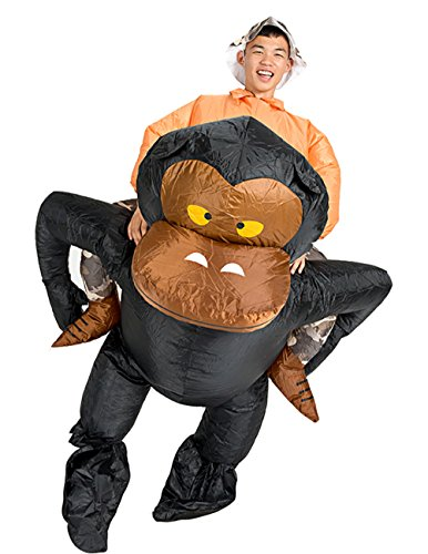 Ride On Me Costume (Inflatable Adult Ride Me Costume Piggyback Ride On Riding Shoulder Fancy Dress (Gorilla))