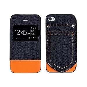 GX Elegante de la caja - Diseño Especial - para iPhone 4/4S ( Rojo/Negro/Blanco/Brown/Rosa/Naranja , Cuero PU ) , White