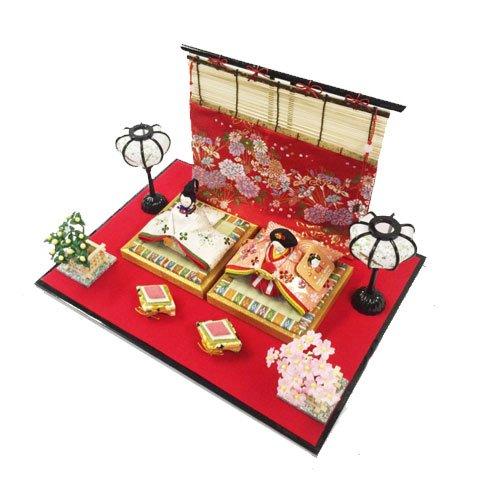 人形本舗 雛人形 ひな人形 ちりめん飾り 平飾り   B01HLSEFHW