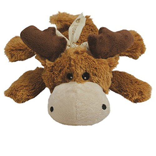 2-Pack Medium Brown Cozie Marvin the Moose Dog Toy by KONG Brown Dog Toy