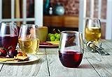 Mozaik Premium Plastic 15 oz. Stemless Wine