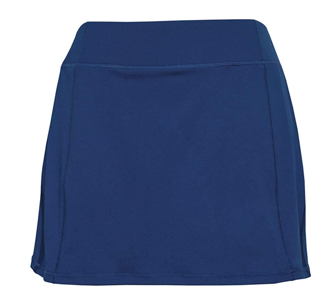 Tangerine Womens Active Skort with Perforated Trim