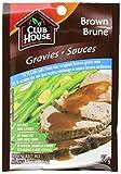 Club House Brown Gravy 25-percent Less Salt, 25gm, 18-count