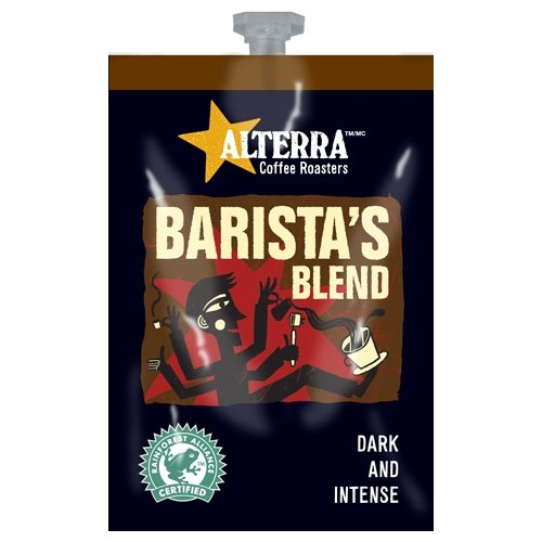 FLAVIA ALTERRA COFFEE, Barista Blend (Dark Roast), 20-Count Freshpacks (Pack of 1 -