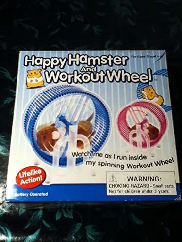 Happy-Hamster-Pet-with-WHEEL-RUNNER-Battery-Operated-Kids-Toy