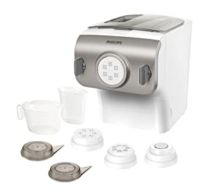 Philips Pasta and Noodle Maker HR2357/05 Retail Box Packaging Silver