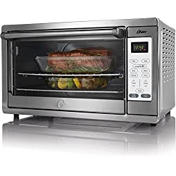 Oster Convection Countertop Toaster Oven Stainless Steel, (TSSTTVXLDG-002)