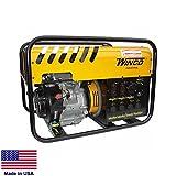 Portable Generator - 6,000 Watt - 6 kW - 120/240V - 11 Hp Honda...