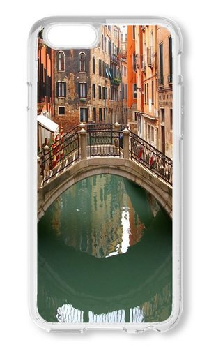 Turbo Delivery LLC - Venice Italy Canal Romantic Tourism-Rubber Case for Apple iPhone 5C, Made and Shipped from USA delivered within 8 Days. Includes screen protector. Style - Venice Beach Salt