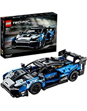 LEGO 42123 Technic McLaren Senna GTR Racing Sports Car Collectible Model, Vehicle Construction Set