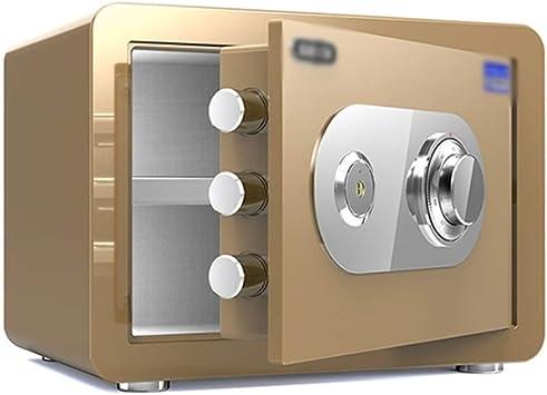 Caja fuerte Caja De Almacenamiento De Dinero (color: Oro) (Size : 30cm): Amazon.es: Bricolaje y herramientas