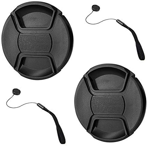 Lens Cap Side Pinch Nwv Direct Microfiber Cleaning Cloth for Nikon D3x + Lens Cap Holder 52mm