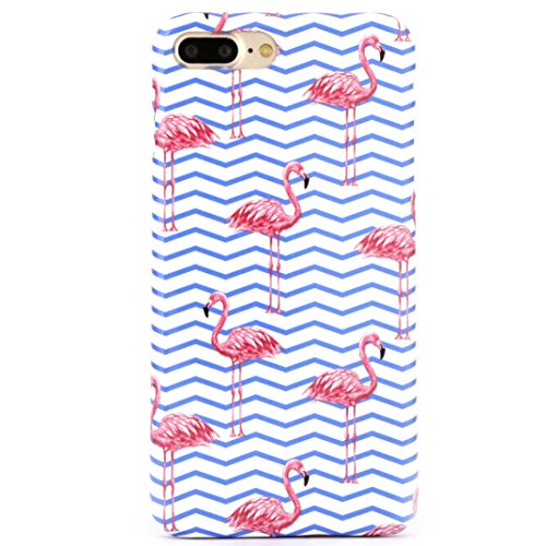 iPhone 8 Plus / 7 Plus Hülle, Arktis Case Hardcase Miami Flamingo