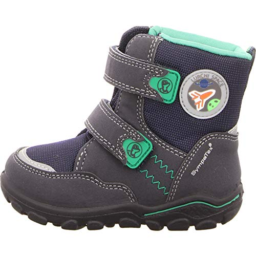 Atlantic Green 32 Lurchi Sympatex Bleu Mixte Bébé Bottines Kev xqqTwYRP