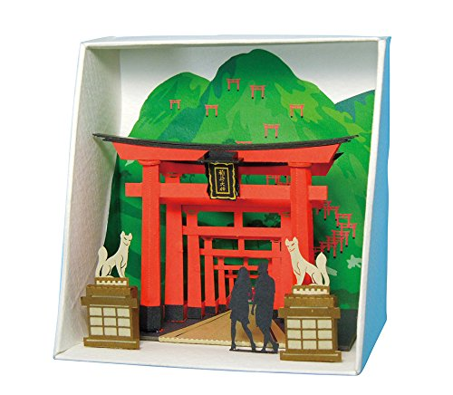 Paper Nano Inari Shrine Building Kit