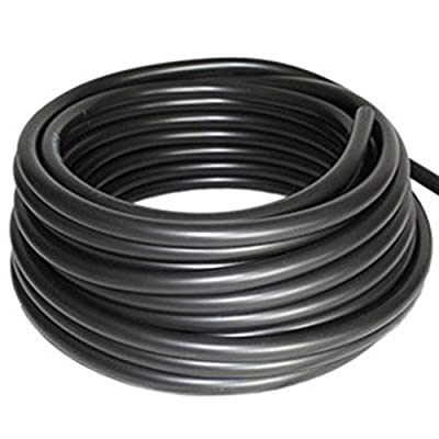 "Patriot Weighted Black Vinyl Aeration Tubing .375"" x 30'"