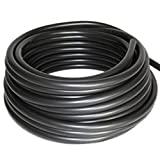 Patriot Weighted Black Vinyl Aeration Tubing .375'' x 25'