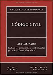 Código Civil (Edición básica en formato A4): Actualizado, incluyendo la última reforma recogida en la descripción