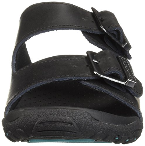 M Skechers Brown 9 US Black Women's Reggae Jammin Sandal rqrYwT