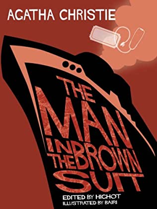 book cover of The Man in the Brown Suit