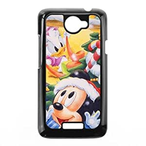 HTC One X Phone Case Black Mickey's Magical Christmas Snowed in at the House of Mouse AXF523959