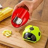 Dunnomart Creative Ladybug Hand Corn Stripper