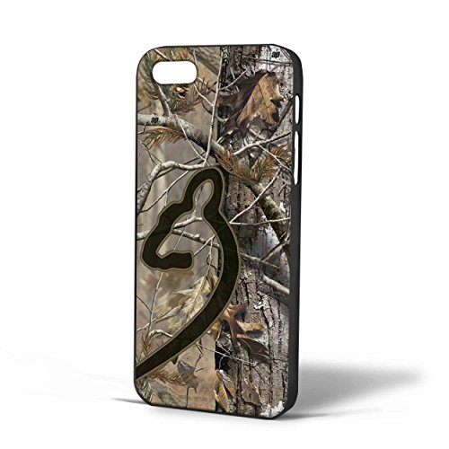 Love Browning Deer camo Real Tree Couple (Right case) For iPhone Case (iPhone 6 Black)